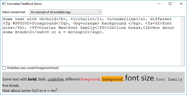 WPF Controls – Enhancing the TextBlock – Peregrine's View